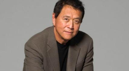 Robert-Kiyosaki enseñando a ser millonario